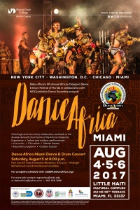 Dance Africa Miami poster