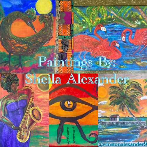 Paintings By Sheila Alexander