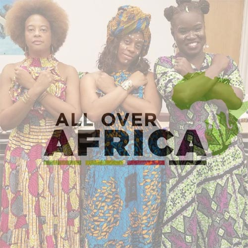 All over Africa