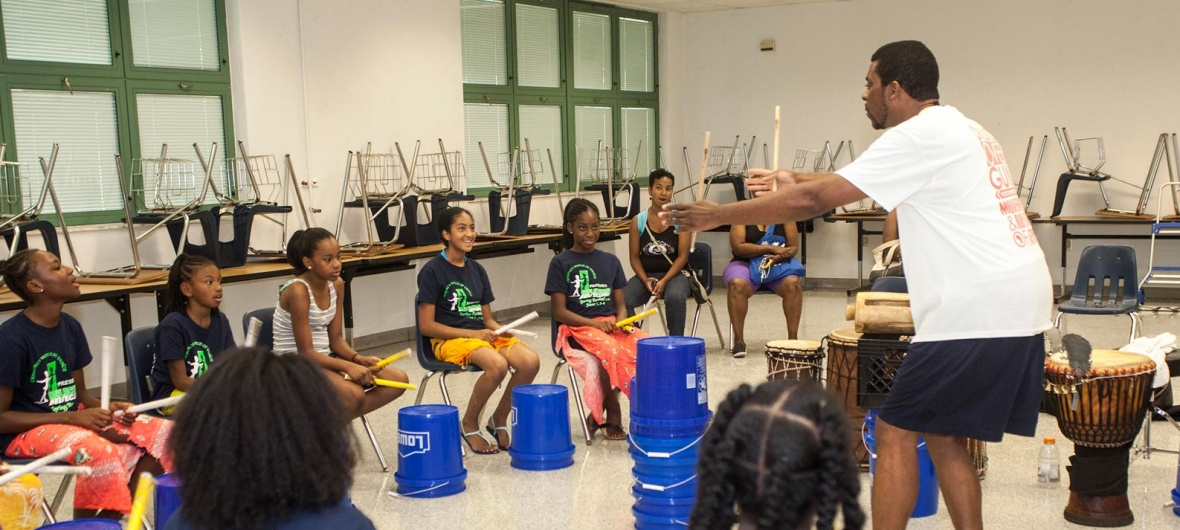 African Diaspora Dance & Drum Festival of Florida children's dance class