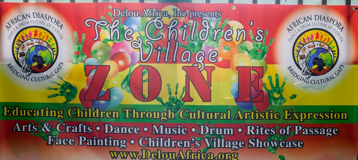 African Diaspora Dance & Drum Festival of Florida children's village
