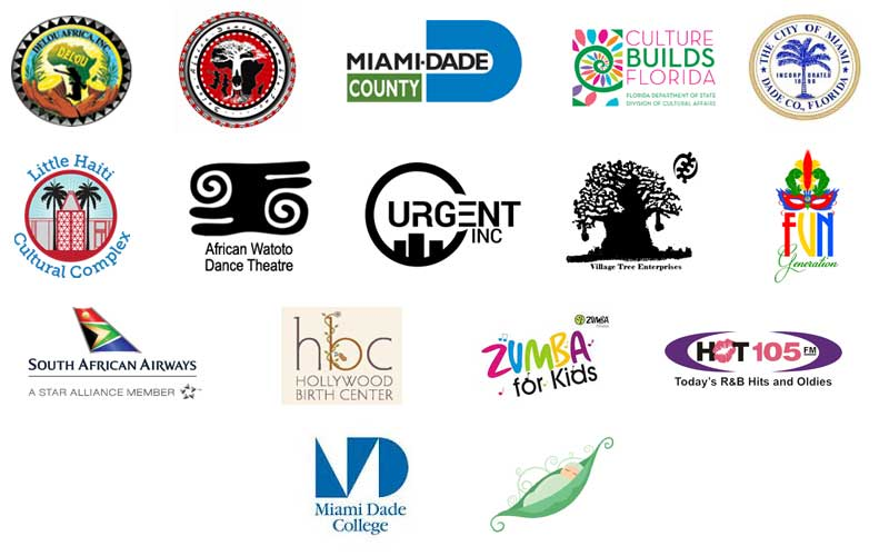 African Diaspora Dance & Drum Festival of Florida community supporters