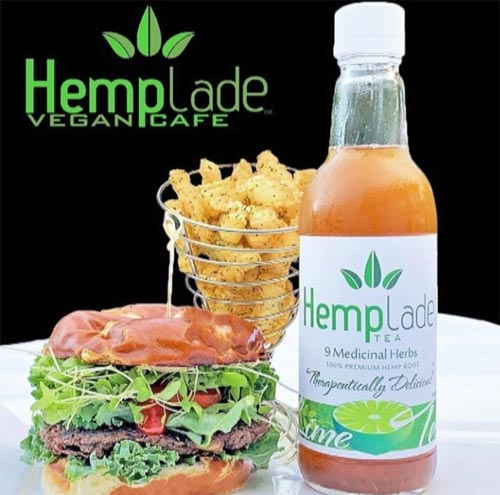 Hemplade Tea and Hemplade Vegan Cafe